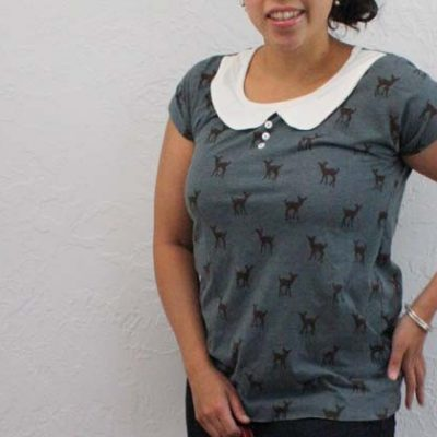 Sew Our Stash: Peter Pan Easy Tee