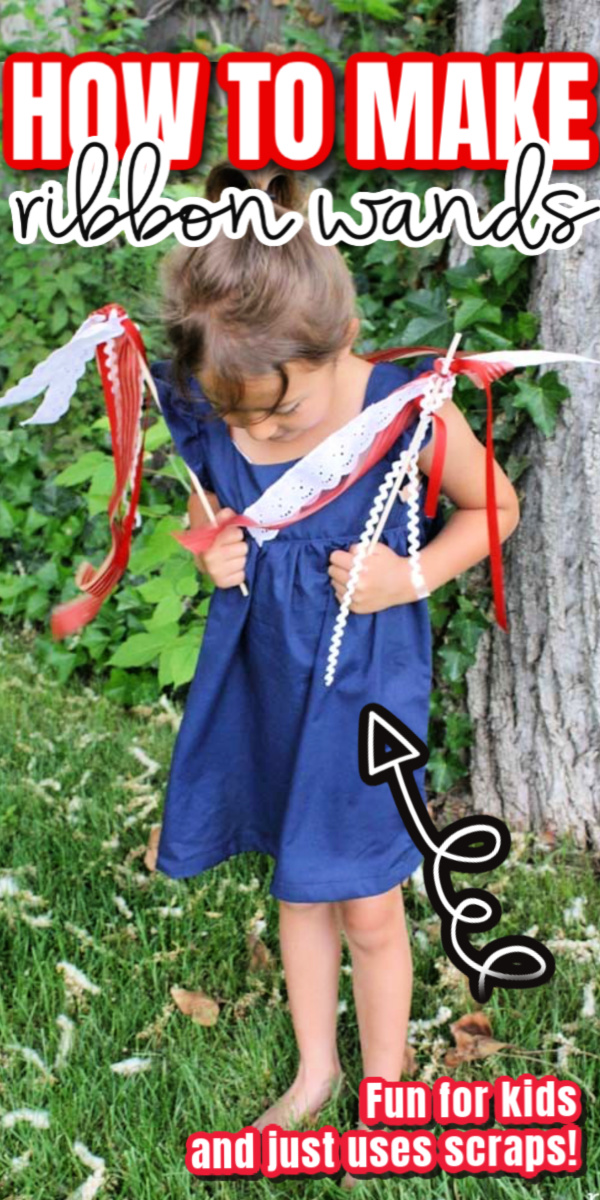 Adorable DIY bohemian babydoll dress and ow to make ribbon wands out of fabric scraps great kid craft project. via @raegun