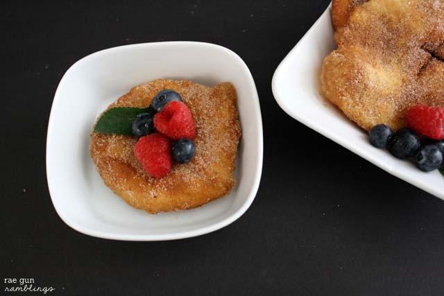 Ny new favorite alternative to donuts. Recipe at Rae Gun Ramblings