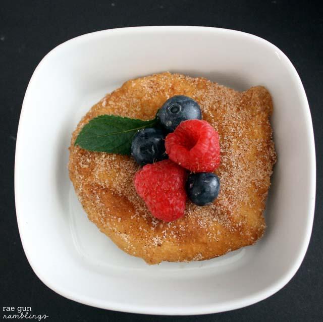 "Fried ""Sand Dollars"" Yummy donut like treat that's super easy to make - Rae Gun Ramblings"