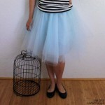 Quick and Easy directions on how to make your own tulle skirt - Rae Gun Ramblings