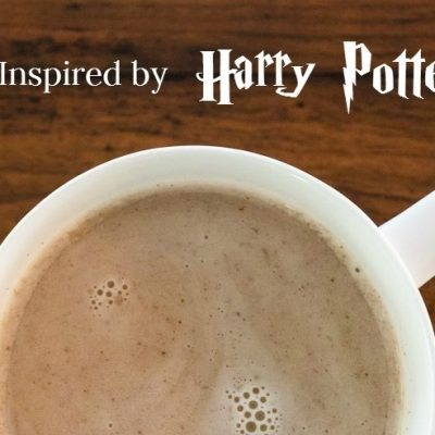 Butterbeer Latte Recipe and Harry Potter Candy Jar