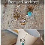 HARRY POTTER stamped necklace