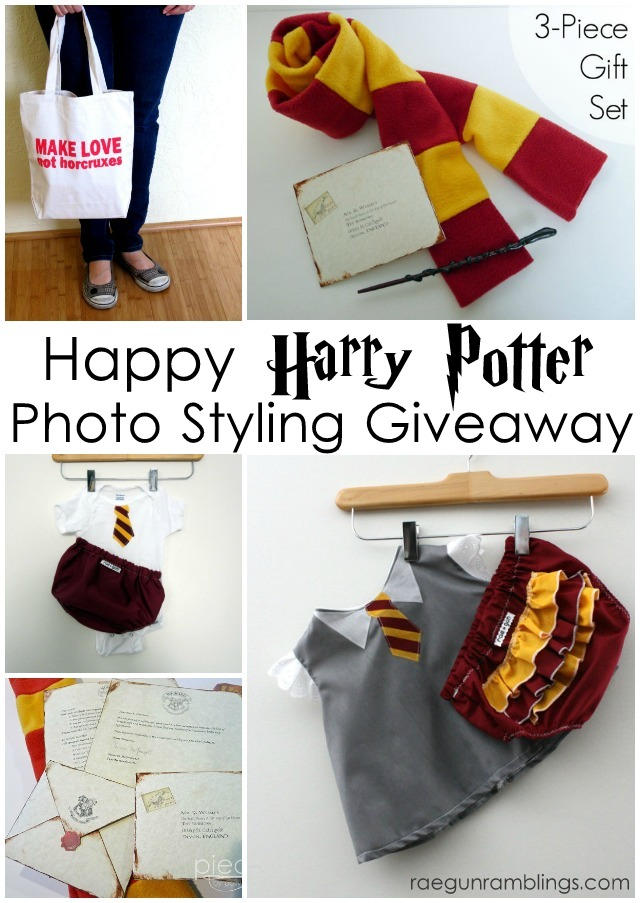 Great props for Harry Potter Baby photo shoots - Rae Gun Ramblings