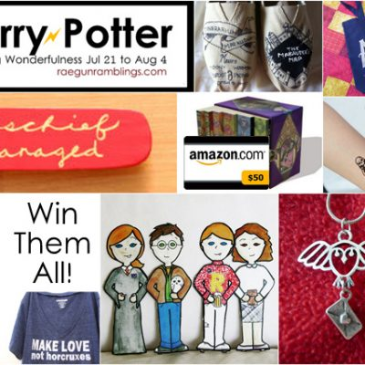 Happy Harry Potter Series and Huge Giveaway