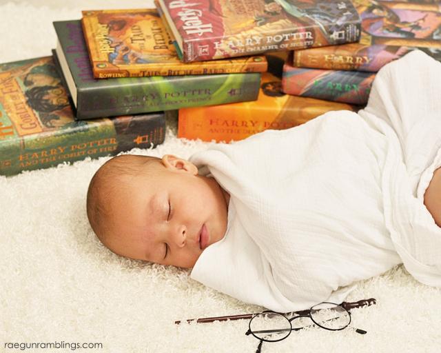 Darling photo ideas for Harry Potter fans. Rae Gun Ramblings