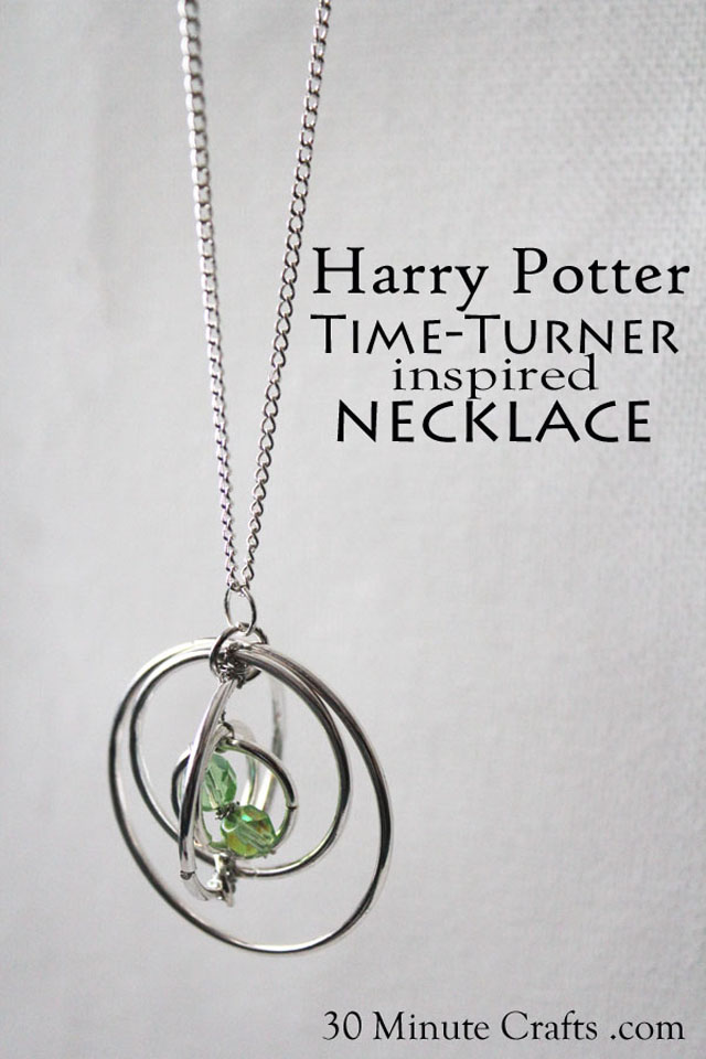 Harry Potter Time Turner Inspired Necklace Tutorial - Rae Gun Ramblings
