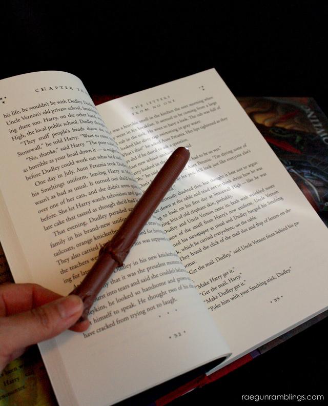 Harry Potter Wand Tutorial - Rae Gun Ramblings