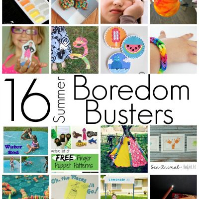 DIY Boredom Busters and Kid Activities
