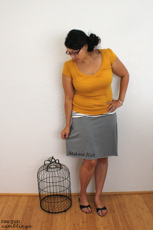Swish and Flick skirt Hermione - Rae Gun Ramblings