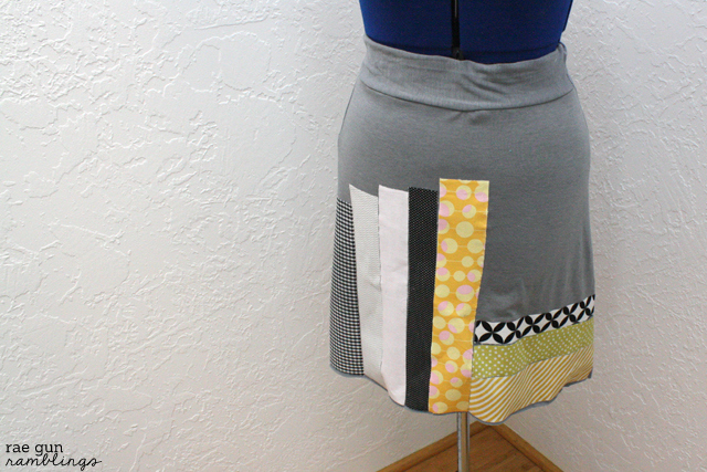 Book psuedo quilt skirt - Rae Gun Ramblings