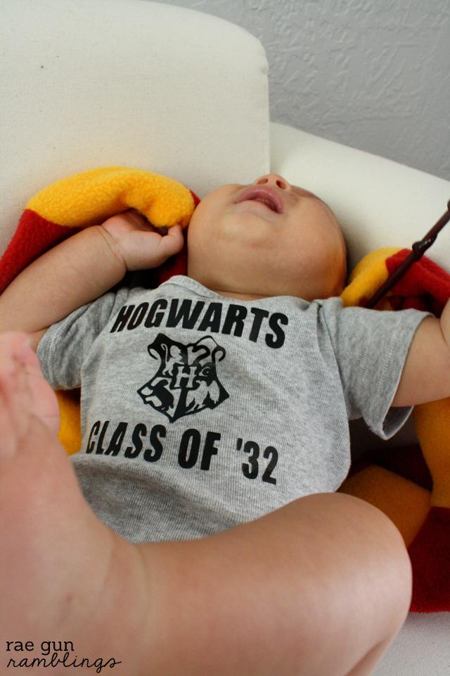 Baby Hogwarts Onesie - Rae Gun Ramblings
