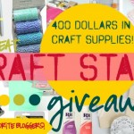 craft stash giveaway TONS of great crafting supplies