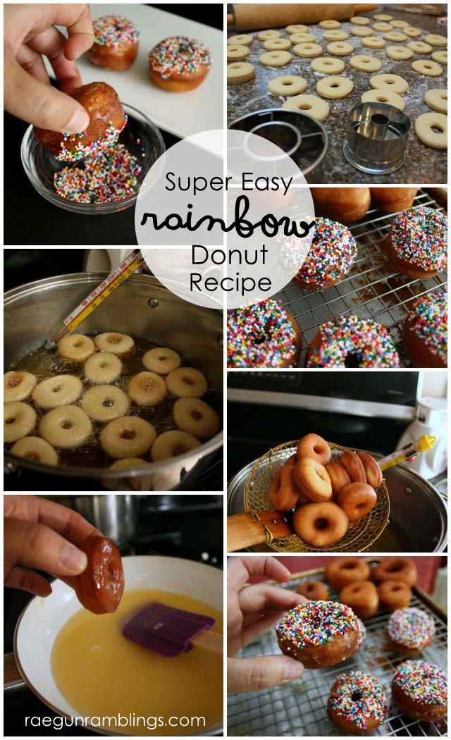 The best donuts ever. Super easy recipe with dairy free and vegan options - Rae Gun Ramblings