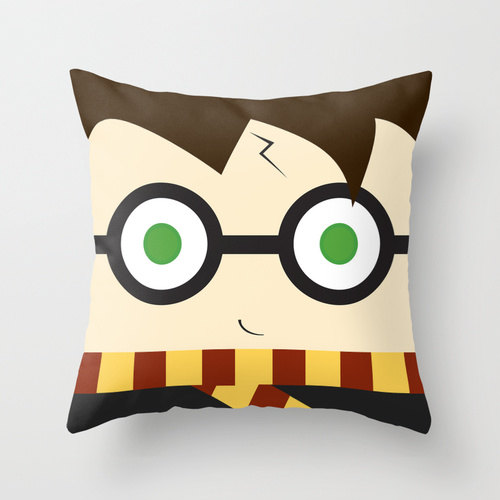 Harry Potter Pillow - Rae Gun Ramblings