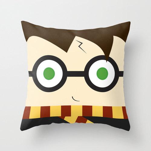 Harry Potter Pillow - Rae Gun Ramblings