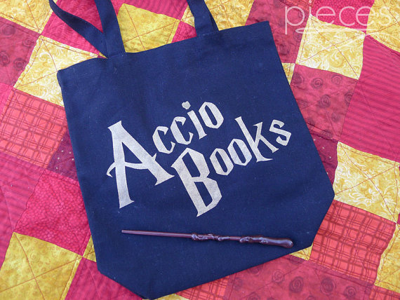 Accio Books Harry Potter Bag - Rae Gun Ramblings