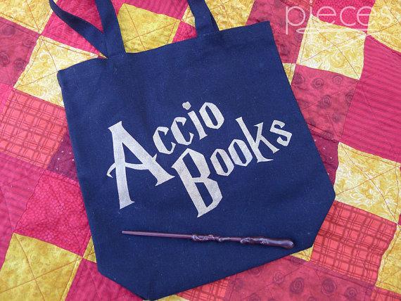 Accio Books Harry Potter Bag - Rae Gun Ramblings