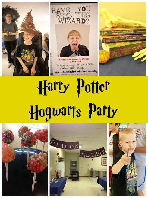 The Ultimate Harry Potter Birthday Party - Rae Gun Ramblings