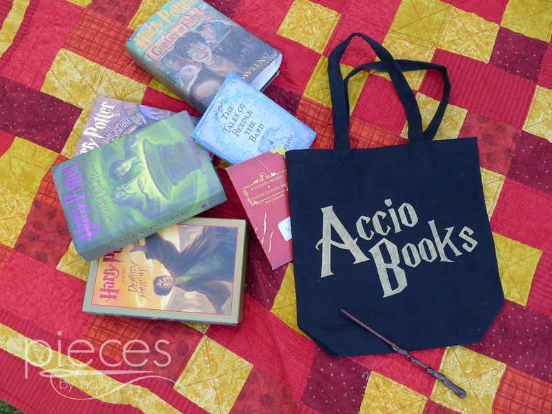 How to make an Accio Books bag.