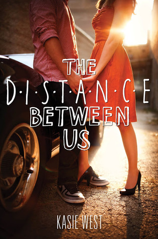 the distance between us by Kasie West cute  YA contemporary - Rae Gun Ramblings