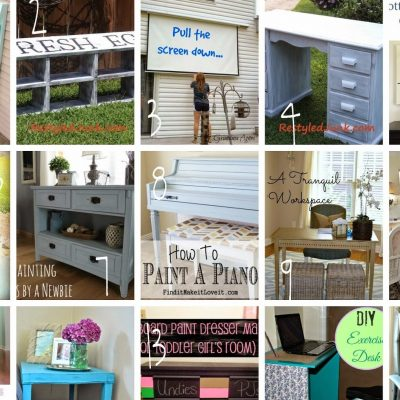 Block Party: DIY Furniture Ideas Features