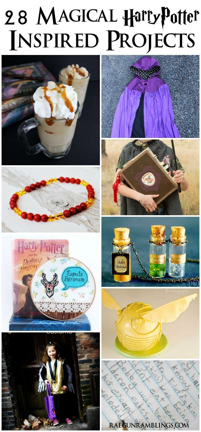 Fantastic tutorials and recipes for Harry Potter lovers - Rae Gun Ramblings