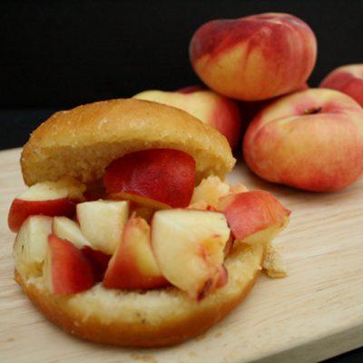 Peach Donuts Recipe The Donut Man Knock-Off