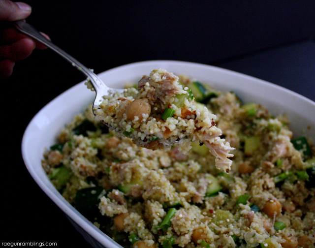 My new go to side. Yummy and easy lemon zucchini quinoa salad recipe - Rae Gun Ramblings