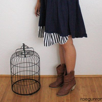 SONP: No More High-Low Dress Tutorial