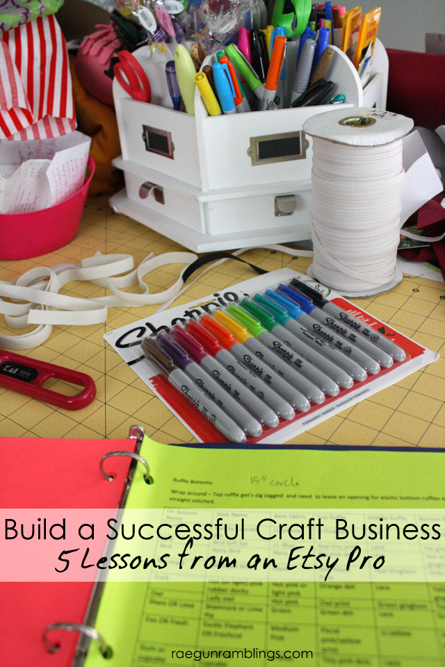 5 Important lessons from years of running a successful Etsy Shop