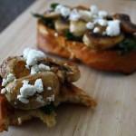 Spinach Mushroom Toast-009s