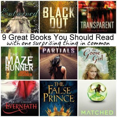 9 Great Books You'll Never Guess What They Have in Common and Giveaway