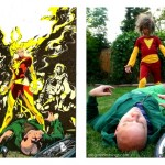 Dark Phoenix vs. Professor X DIY Costume remake - Rae Gun Ramblings
