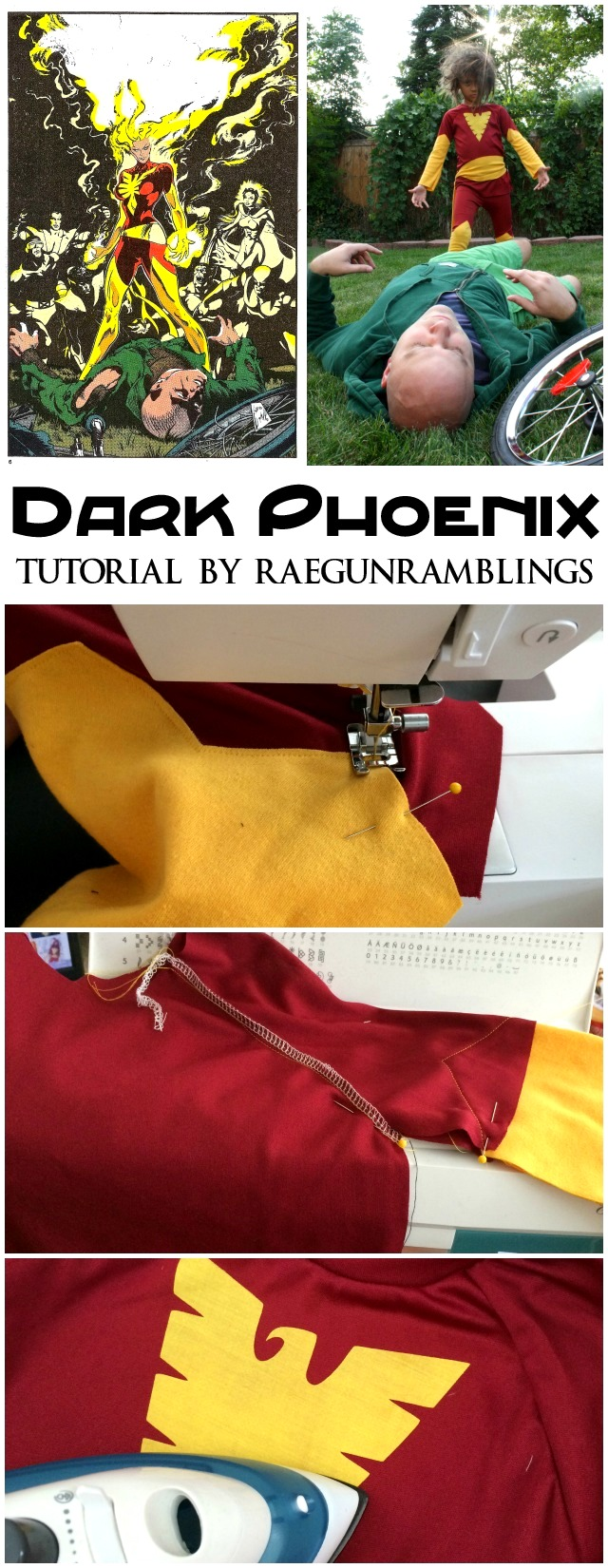 Dark Phoenix Costume - Rae Gun Ramblings