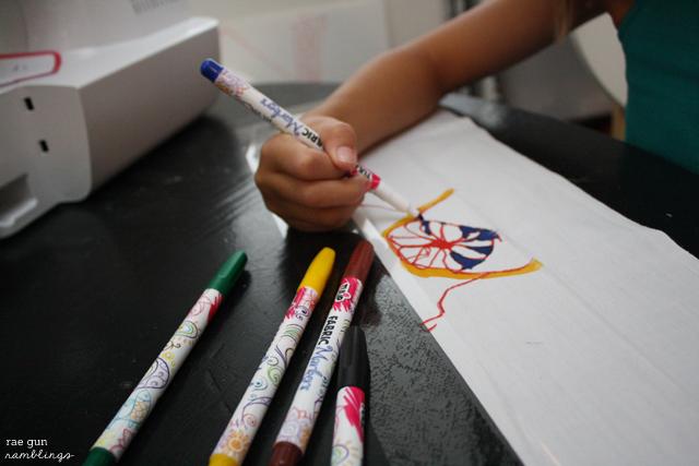 Tips on using fabric markers - Rae Gun Ramblings