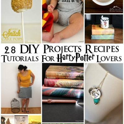 28 Harry Potter DIYs, Tutorials, and Recipes
