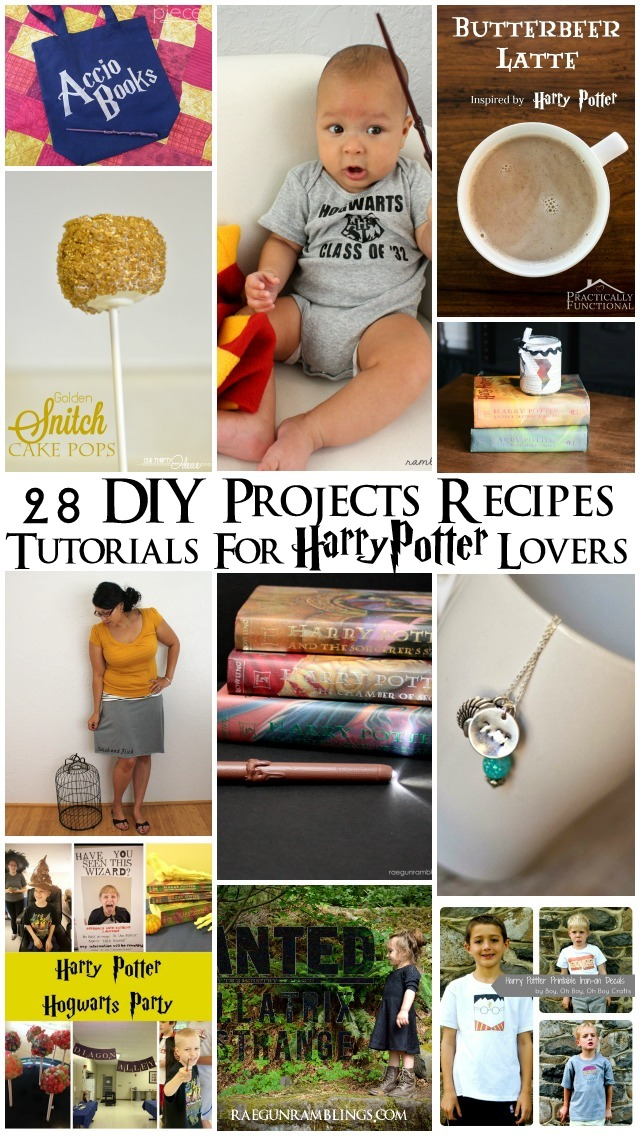 Tons of amazing Harry Potter inspired projects - Rae GUn Ramblings