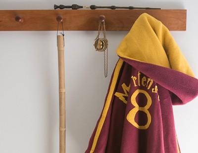 Quidditch Robes Tutorial, Harry Potter Spell Book, and Bellatirx Dress