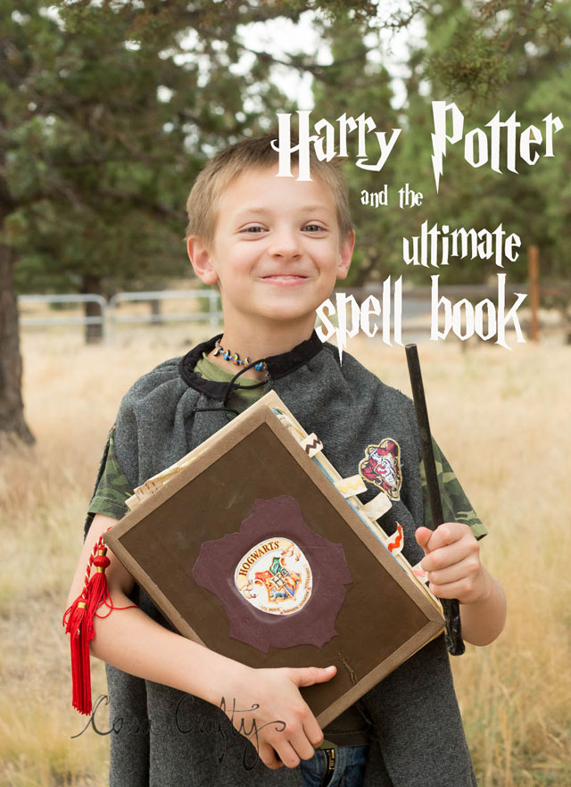 Amazing Harry Potter Spell book you've got to see the inside of this thing.