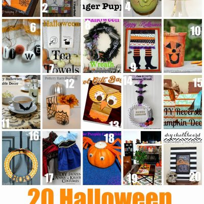 Block Party: 20 Halloween Craft Ideas Features