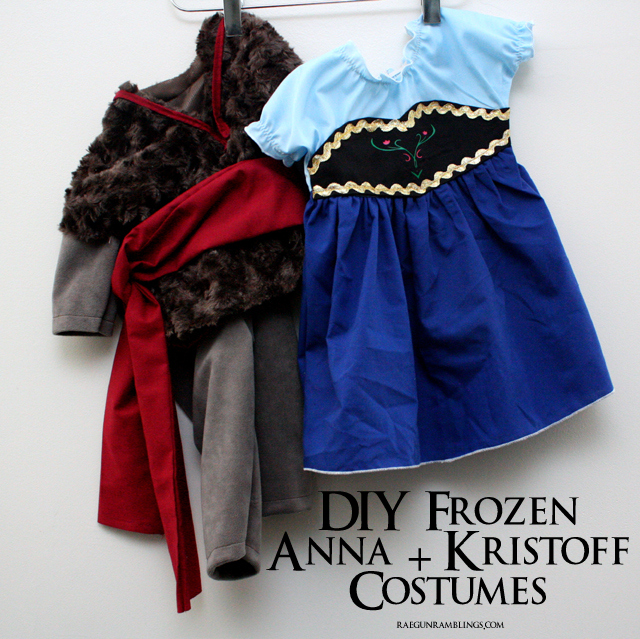 Frozen Anna and Kristoff Costumes Tutorial - Rae Fun Ramblings