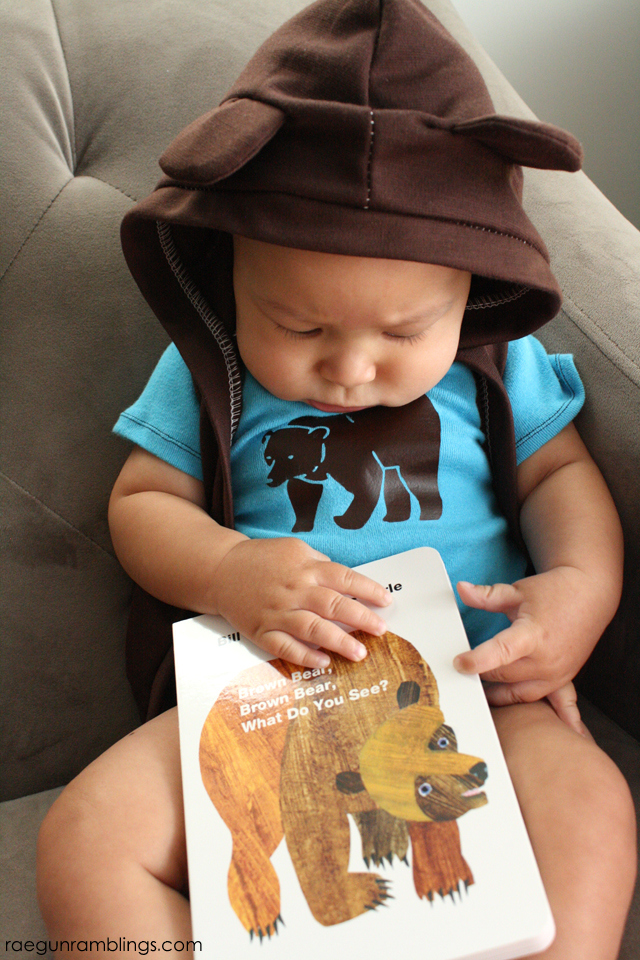 Brown Bear Book Outfit Tutorial - Rae Gun Ramblings