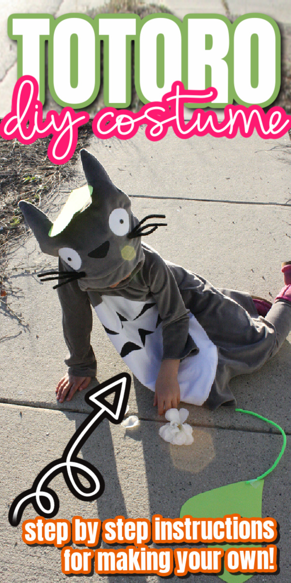 How to make a My Neighbor Totoro costume with full step by step instructions.