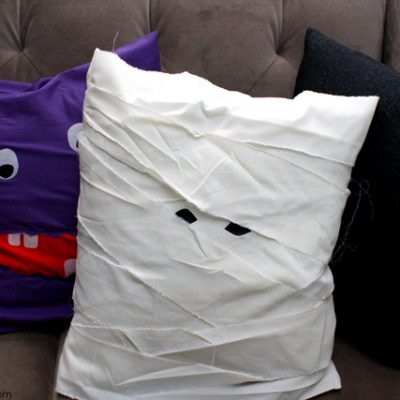 15 Minute Mummy Pillow Case Tutorial