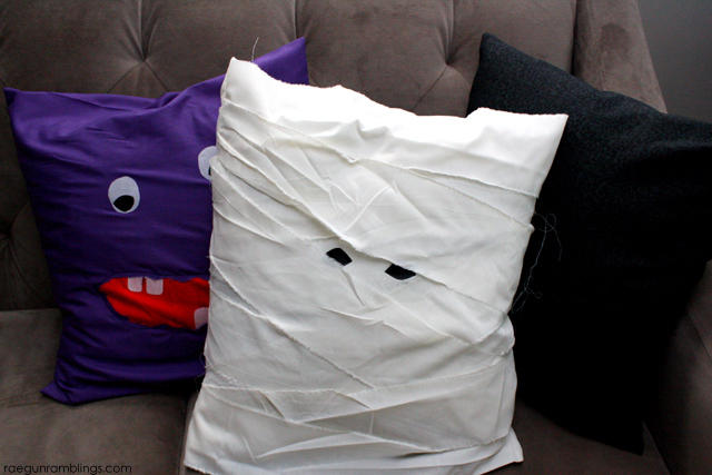 15 minute Mummy and Monster pillow case tutorials - Rae Gun Ramblings