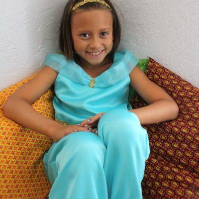DIY Princess Jasmine Costume Tutorial