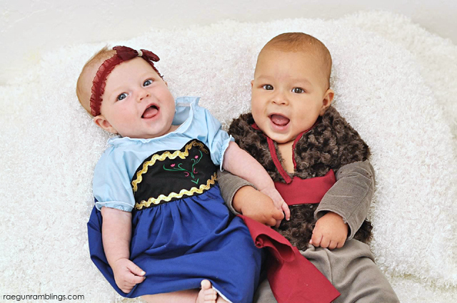 Baby Anna and Kristoff from Frozen - Rae Gun Ramblings