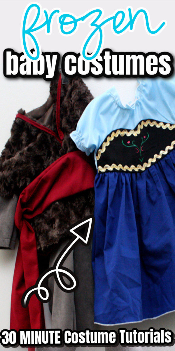 baby sized Kristoff and Anna costumes via @raegun