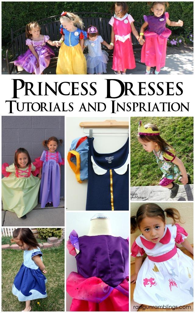 the best princess dress tutorials and inspiration rae gun ramblings